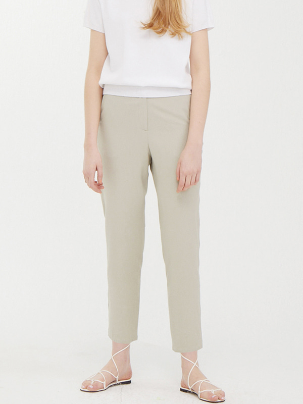 Track Banding Slacks / Light Khaki