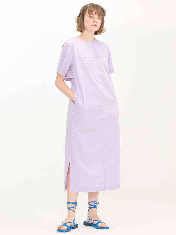 Back Wing Dress / Lavender