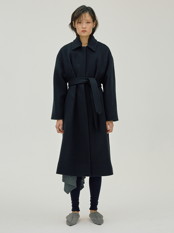X Dart Coat / Black